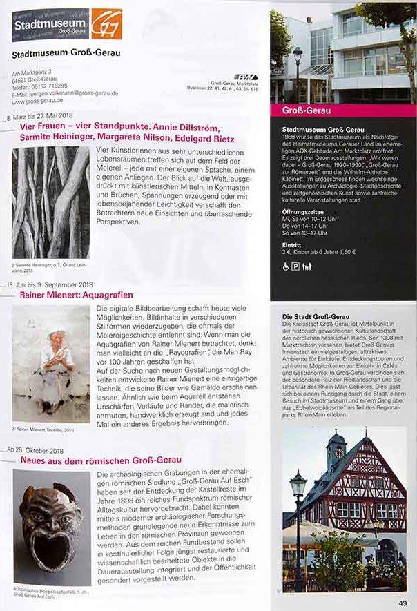 Kultur-Region FrankfurtRheinMain 2018