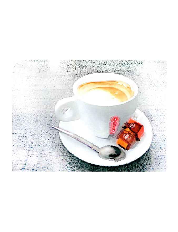 café 70x50cm